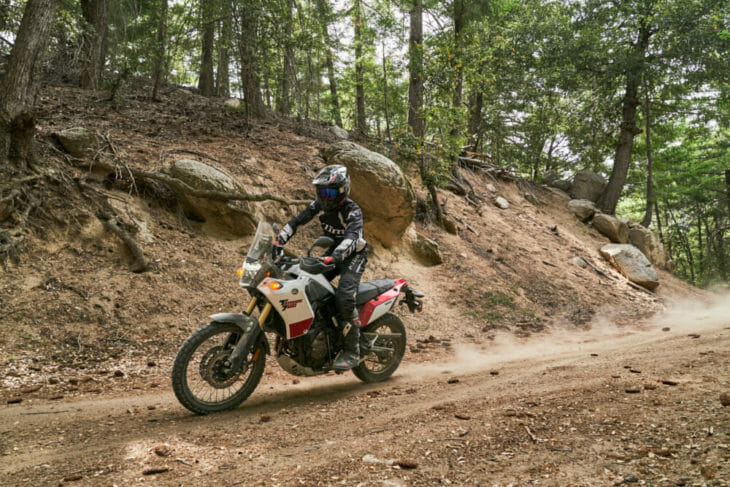2021 Yamaha Tenere 700 Review Cycle News Action Dirt left side 1