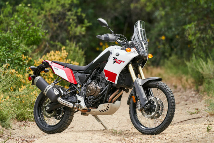 2021 Yamaha Tenere 700 Review Right side static