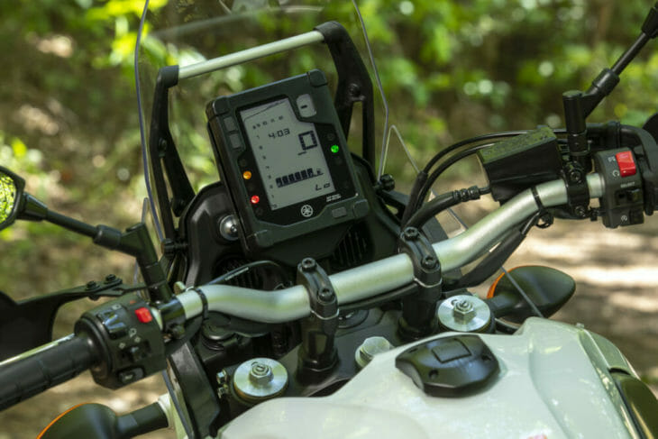 2021 Yamaha Tenere 700 Review dash