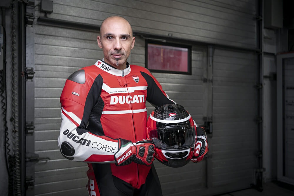 Alessandro Valia Interview: Here's the man who developed your Ducati.