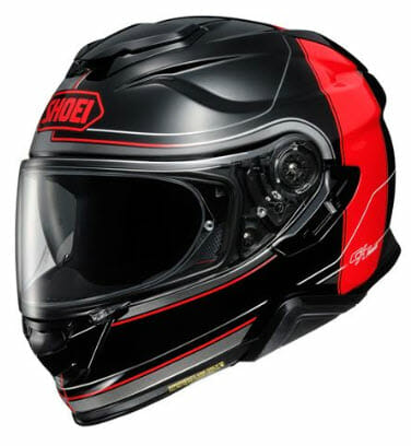 BikeBandit Full Face Street Motorcycle Helmet Shoei GT-AIR !! Crossbar Helmet
