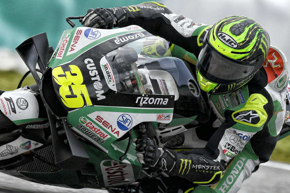 Cal Crutchlow says that he's quite happy with his career and what he's accomplished.