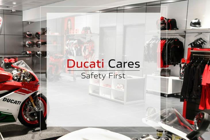 """Ducati Dealerships Beginning to Re-open 