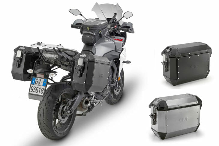 Givi Trekker Alaska Aluminum Side Cases
