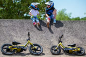 Harley-Davidson IRONe12 and IRONe16 Kids Electric Balance Bikes