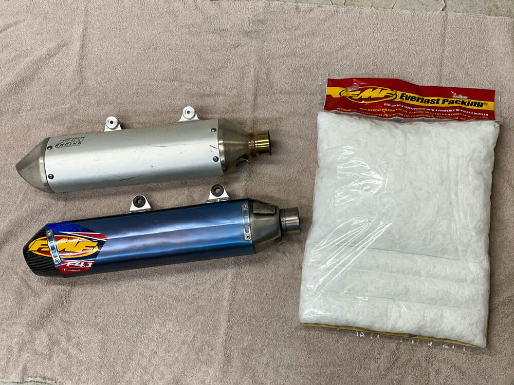 How To Rebuild a Motorcycle Muffler