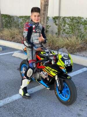 Julian Correa. Photo courtesy of American Racing Team