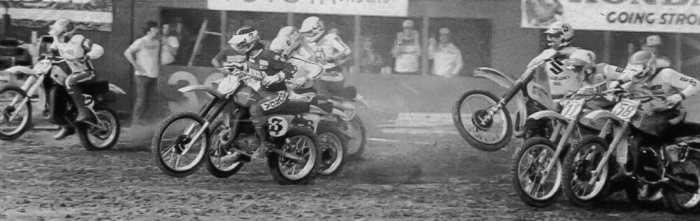 Marty Smith's racing career took a big hit when he dislocated his hip at this race, the Houston Supercross in 1978.