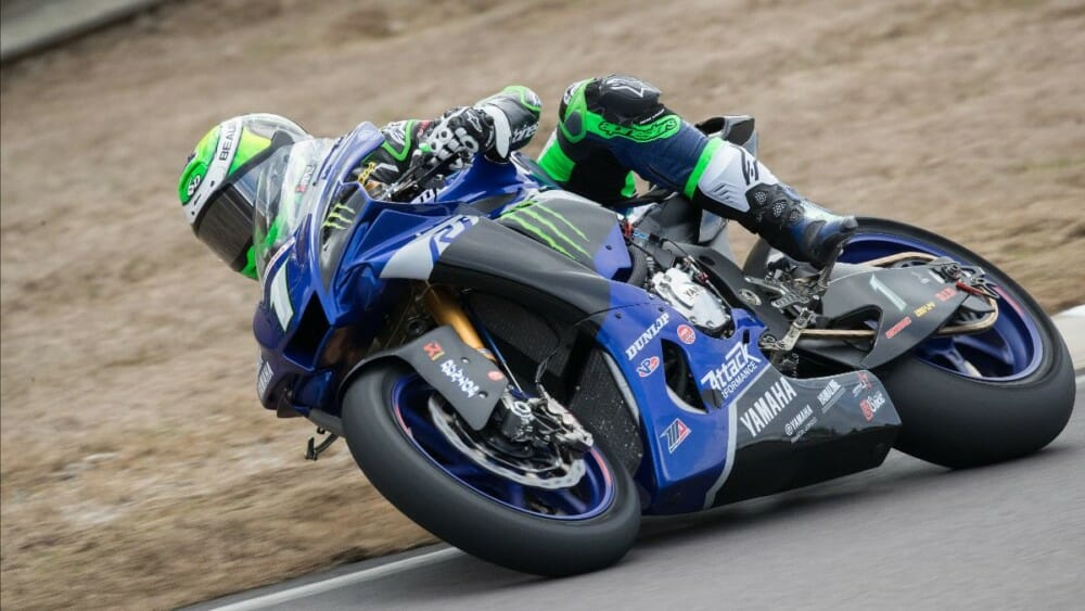 Four-time MotoAmerica Superbike Champion Cameron Beaubier leads the HONOS MotoAmerica Superbike field into the season opener at Road America this coming weekend. Photo by Brian J. Nelson.