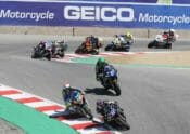 MotoAmerica has rescheduled the GEICO Motorcycle Superbike Speedfest at Monterey to October 23-25 due to still-unresolved rules regarding spectator events in California with COVID-19. Photo by Brian J. Nelson.