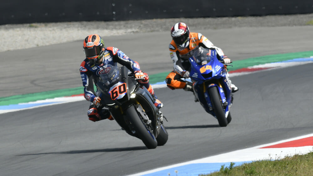 Van der Mark and PATA Yamaha WorldSBK Official Team Returns to Track Action at Assen