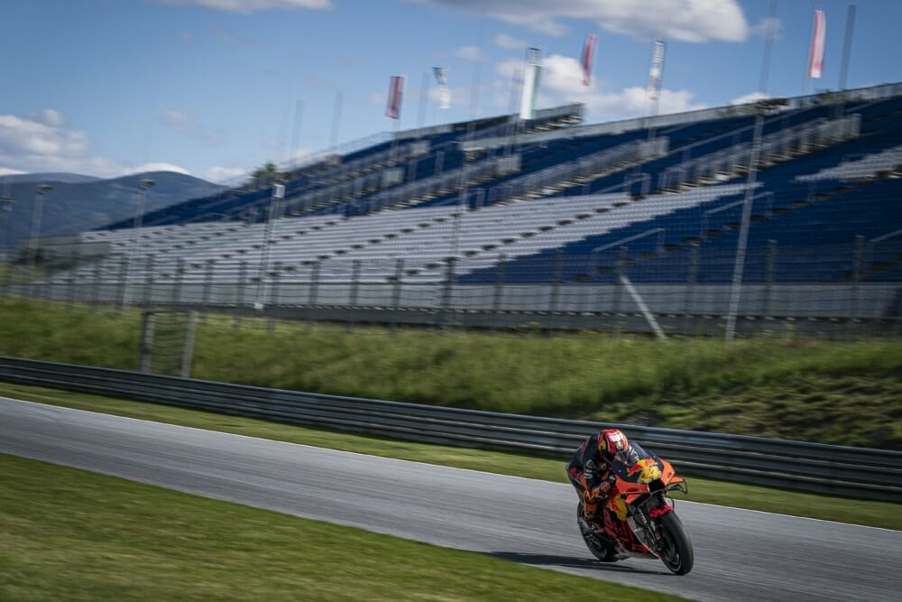 Pol Espargaro KTM MotoGP RBR Private Test 2020-2