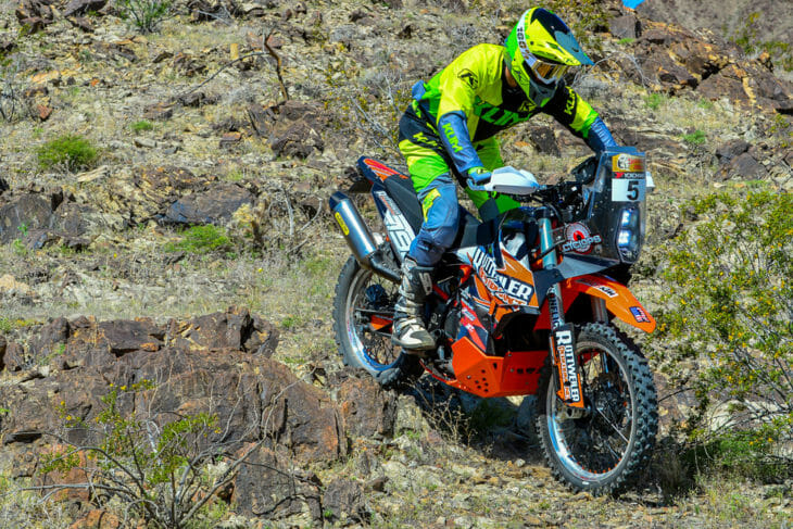 There are rally bikes, then there's the Rottweiler Performance KTM 790 Adventure R—the most macho motorcycle this side of the Dakar Rally.