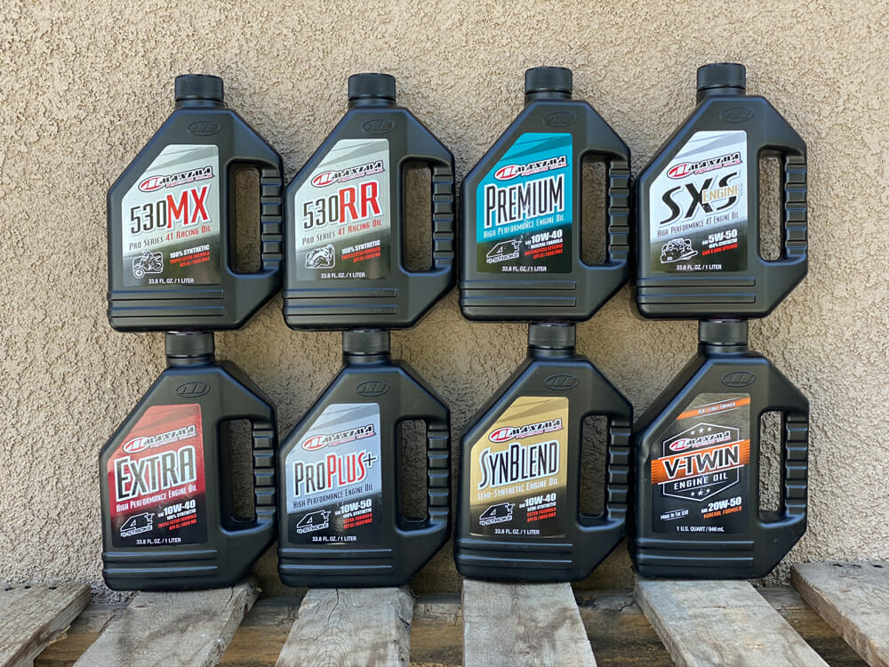 Select correct Motorcycle oil