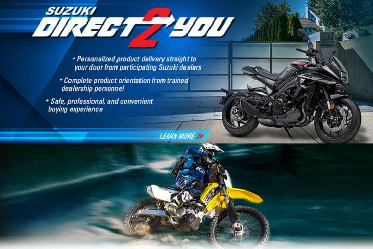 """Suzuki Supports Dealers With """"Suzuki Direct 2 You"""""""