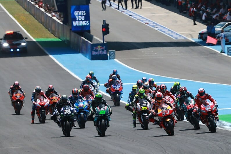 Proposal Made to MotoGP Events at Jerez in July