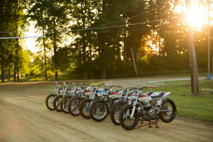 2020 Flattrack FITE Klub 1 Bikes - Willy Browning Photo