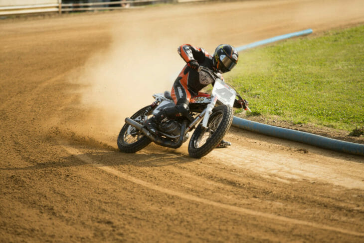 2020 Flattrack FITE Klub 1 Bryan Smith Action - Willy Browning Photo