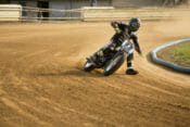 2020 Flattrack FITE Klub 1 Jared Mees Action - Willy Browning Photo
