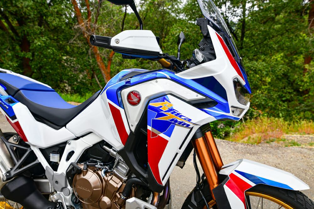 2020 Honda Africa Twin Adventure Sports ES windscreen
