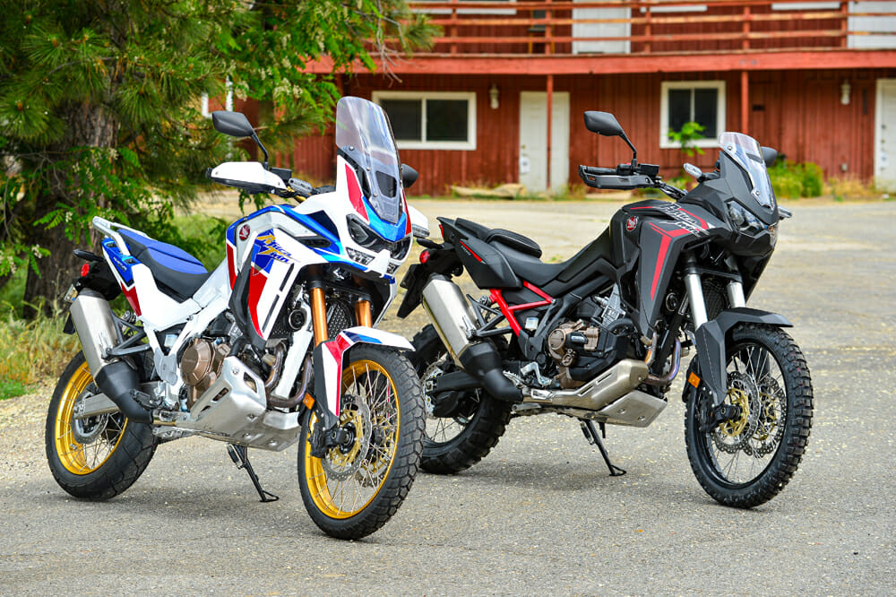 2020 Honda Africa Twin and Africa Twin Adventure Sports ES Review