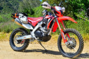 Cycle News 2020 Honda CRF450L Project
