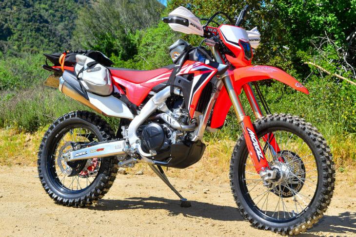 Cycle News 2020 Honda CRF450L Project