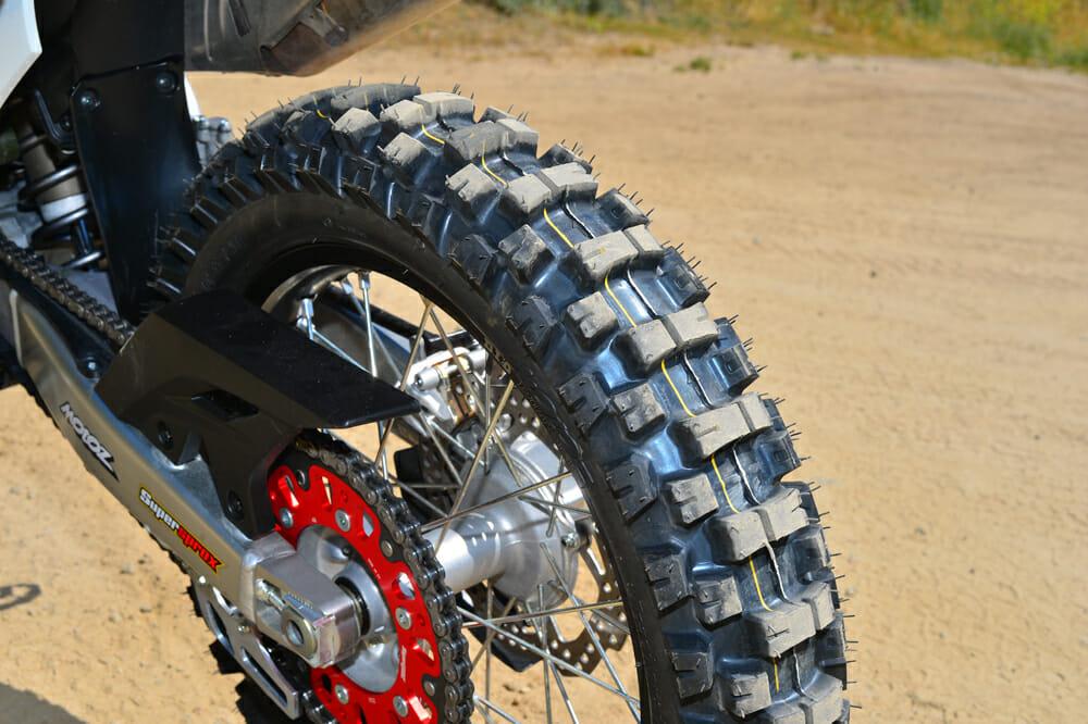 2020 Honda CRF450L with MotOZ tires.