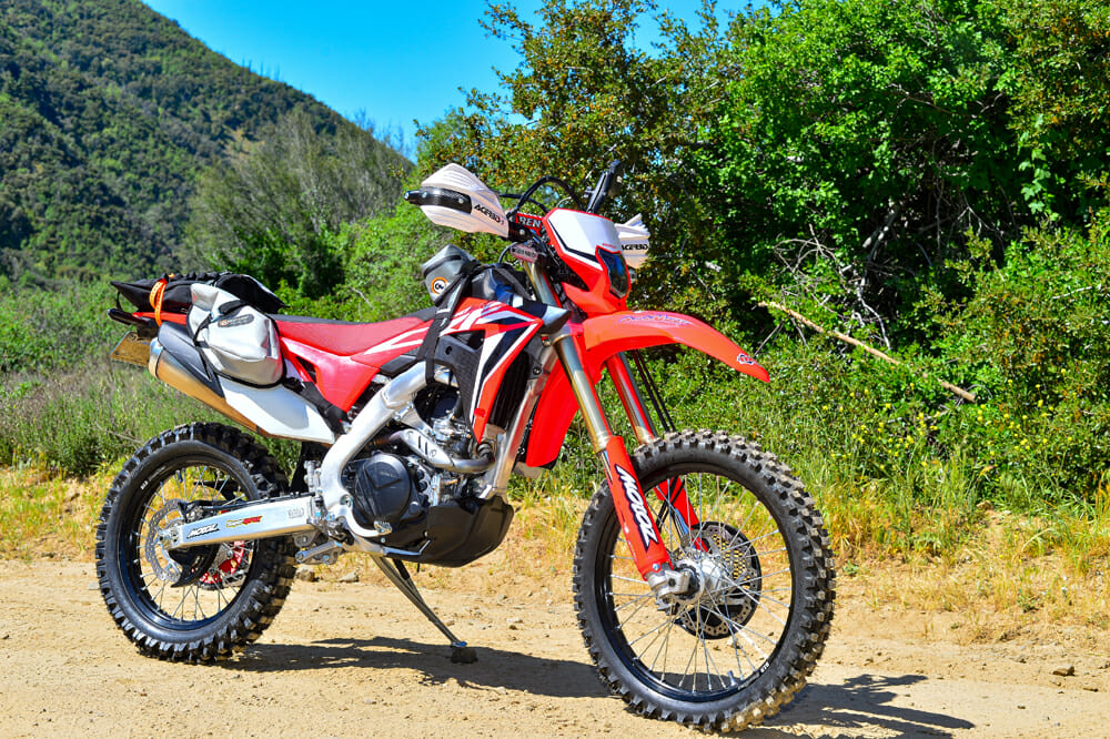 2020 Honda CRF450L Project Right Side