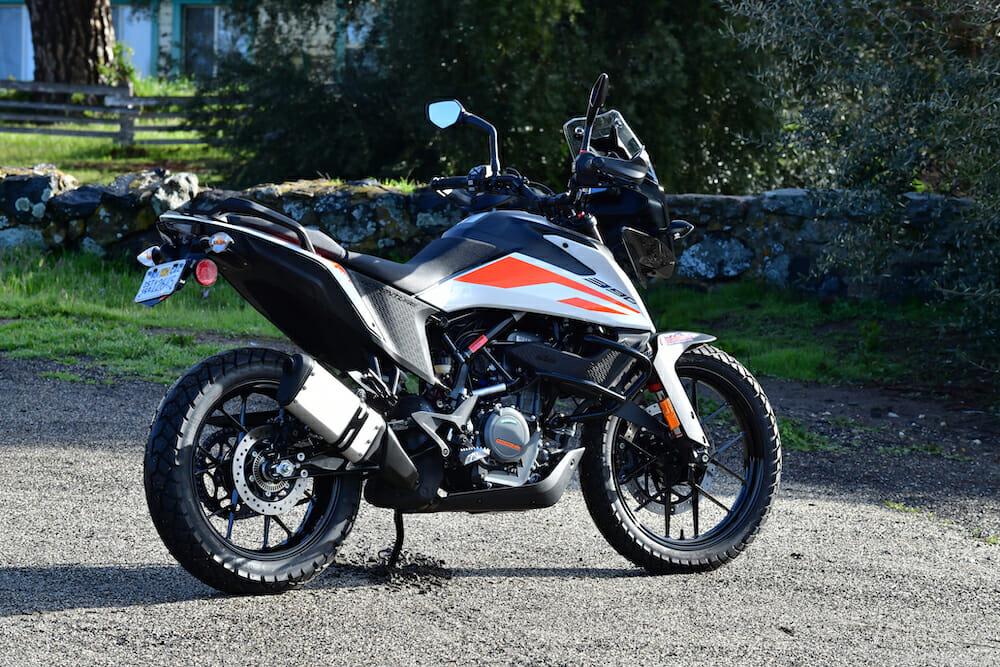 2020 KTM 390 Adventure Specifications