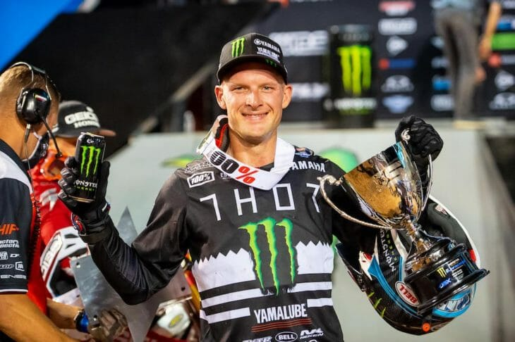 2020 Salt Lake City Supercross Rnd 12 Results Shane McElrath