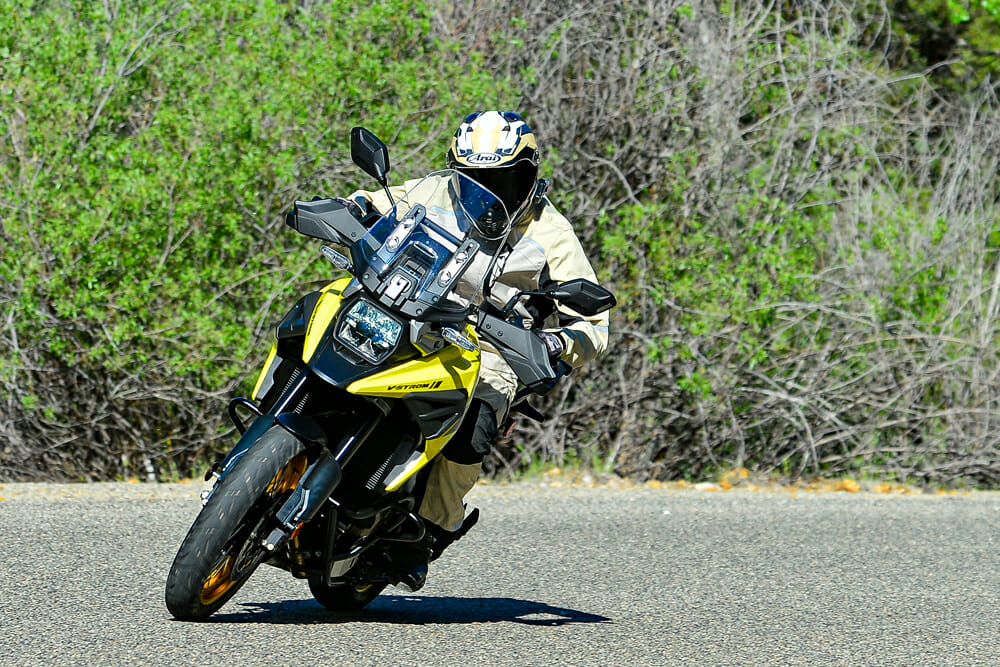 There are three 2020 Suzuki V-Strom 1050 versions to choose from: standard, XT, and XT Adventure.