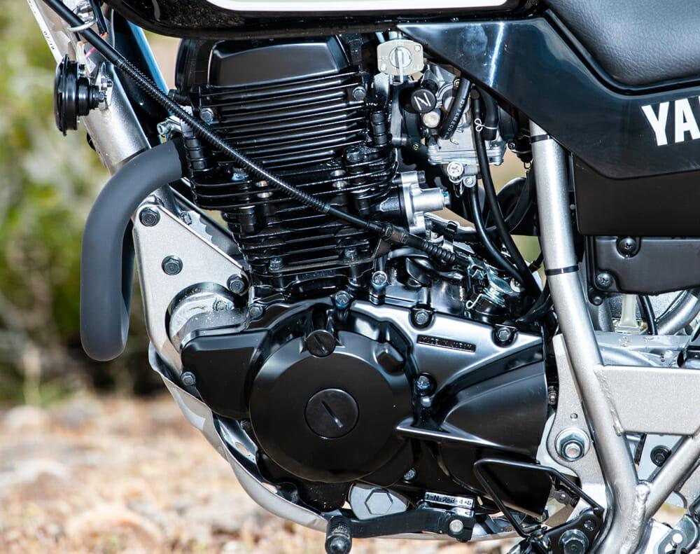 2020 Yamaha TW200 Engine