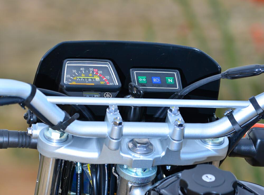 2020 Yamaha TW200 Speedo