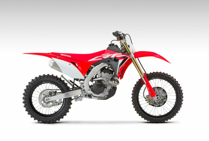 2021 Honda CRF250R First Look