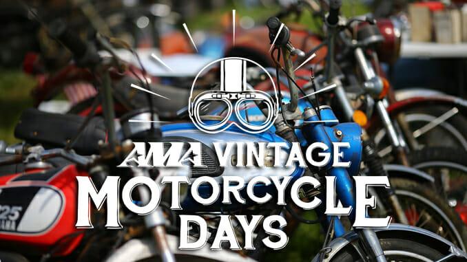 2020 AMA Vintage Motorcycle Days Postponed