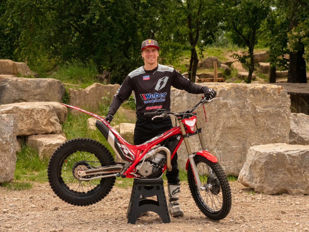 GasGas Motorcycles Welcomes Adrian Guggemos as Official Brand Ambassador