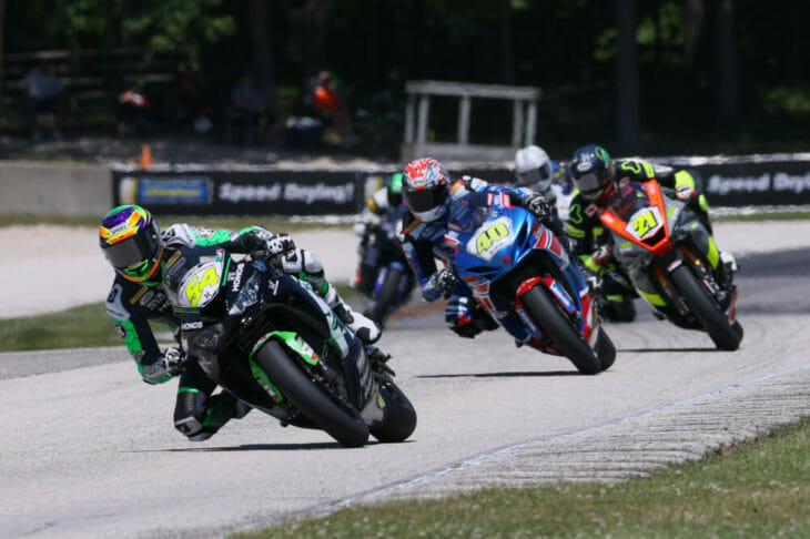 Sunday MotoAmerica Supersport Race Two