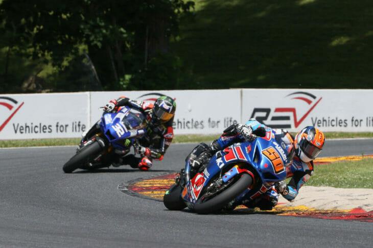 Sunday MotoAmerica Superbike Race Two