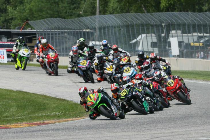 Sunday MotoAmerica Junior Cup Race Two