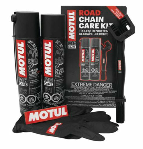 BikeBandit Top Five Motul Products Chain Road Care Kit