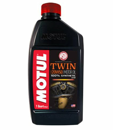 BikeBandit Top Five Motul Products Twin Synthetic Motor Oil