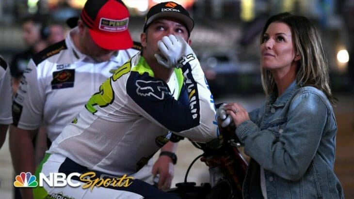 Chad Reed Bids Farewell to Supercross in 'We took on the world' video from NBC Sports Group