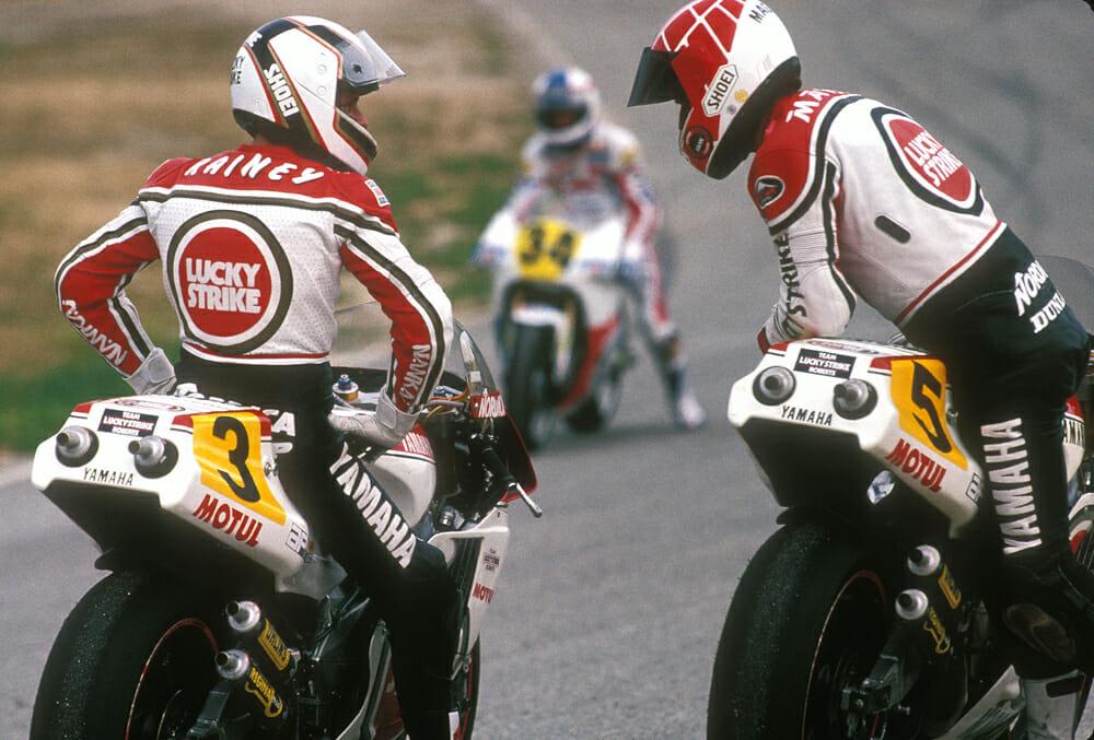 Wayne Rainey 500cc Road Race World Champion