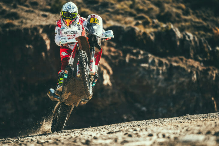 Laia Sanz is one of the best rally riders in the world