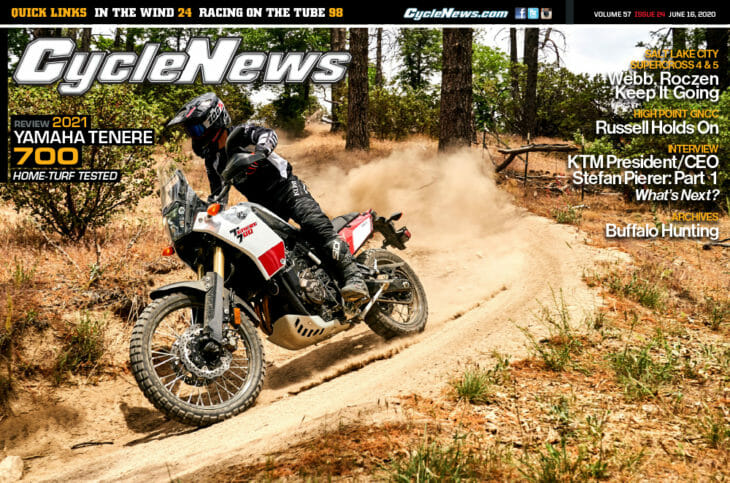Cycle News Magazine 2020 Issue 24