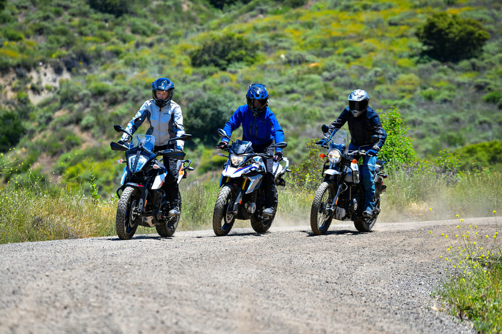 Cycle News group Small Bore Adventure Motorcycle Comparison