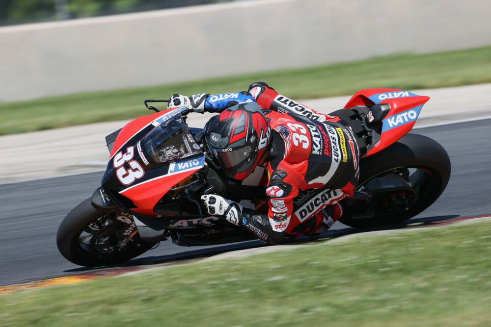 Ducati Panigale V4 R Takes Its First Superbike Podium