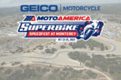 GEICO Motorcycle To Partner MotoAmerica Superbike Speedfest At Monterey