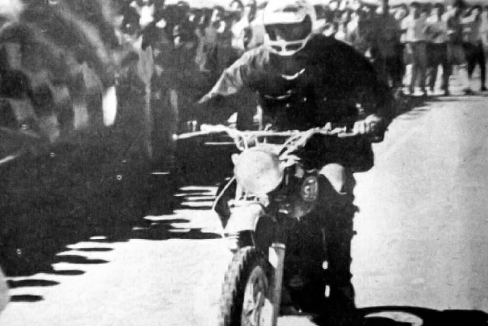 J.N. Roberts during the Mexican 1000 (a.k.a. Baja 1000) in 1967.
